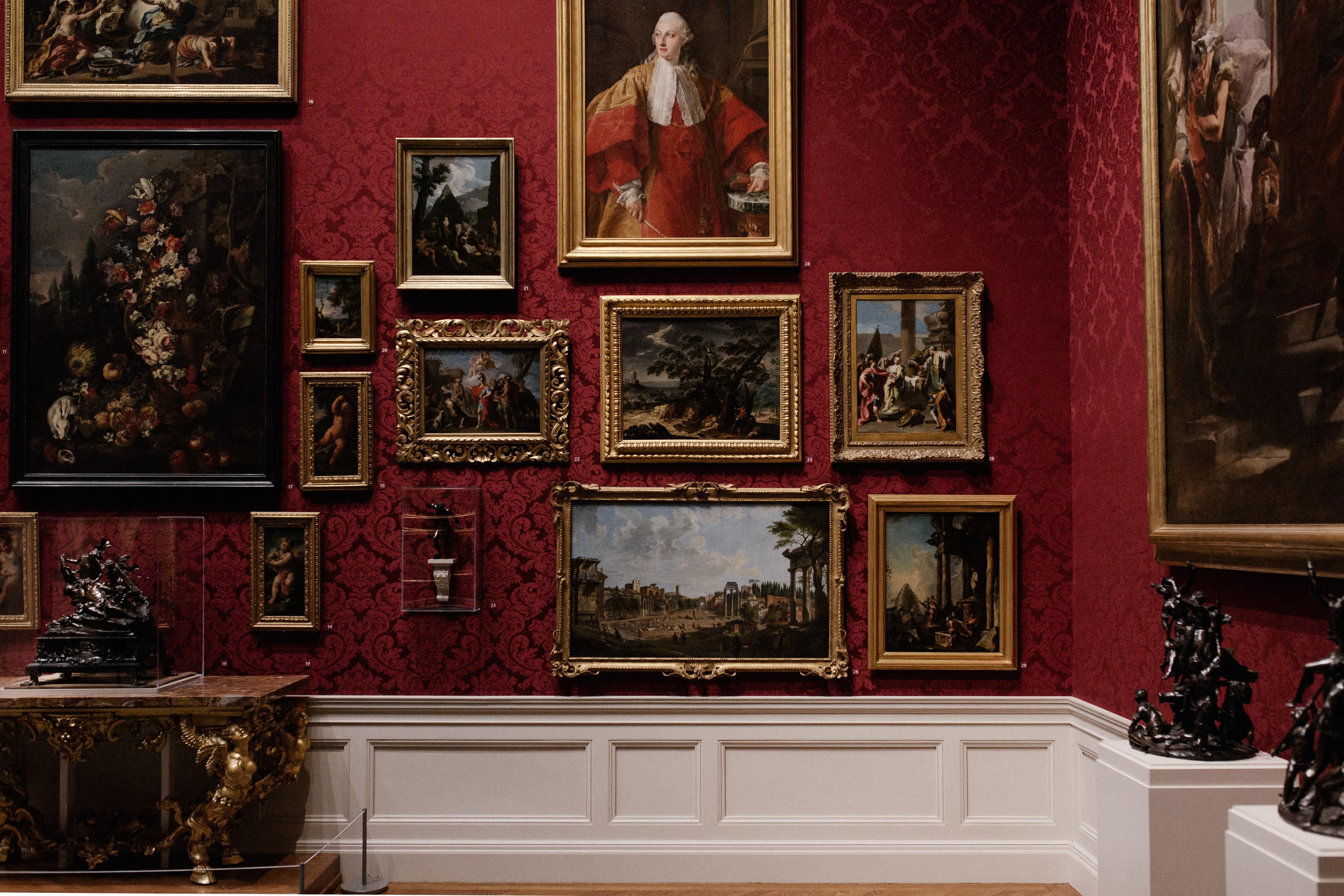 Collezione dipinti galleria